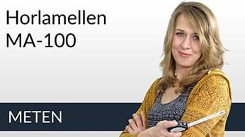 Meetinstructies Horlamellen MA-100