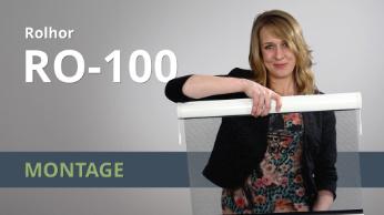 Montage video Raamrolhor RO-100