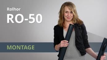 Montage video Raamrolhor RO-50